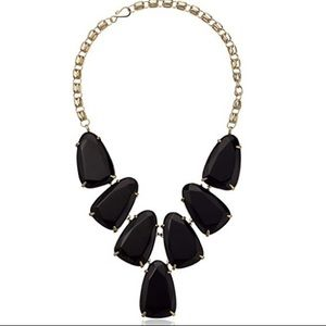 Kendra Scott Harlow Black Necklace.